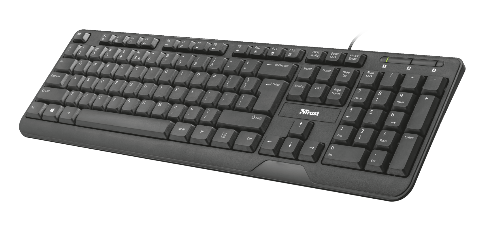 TRUST KEYBOARD ZIVA MULTIMEDIA GR 22177