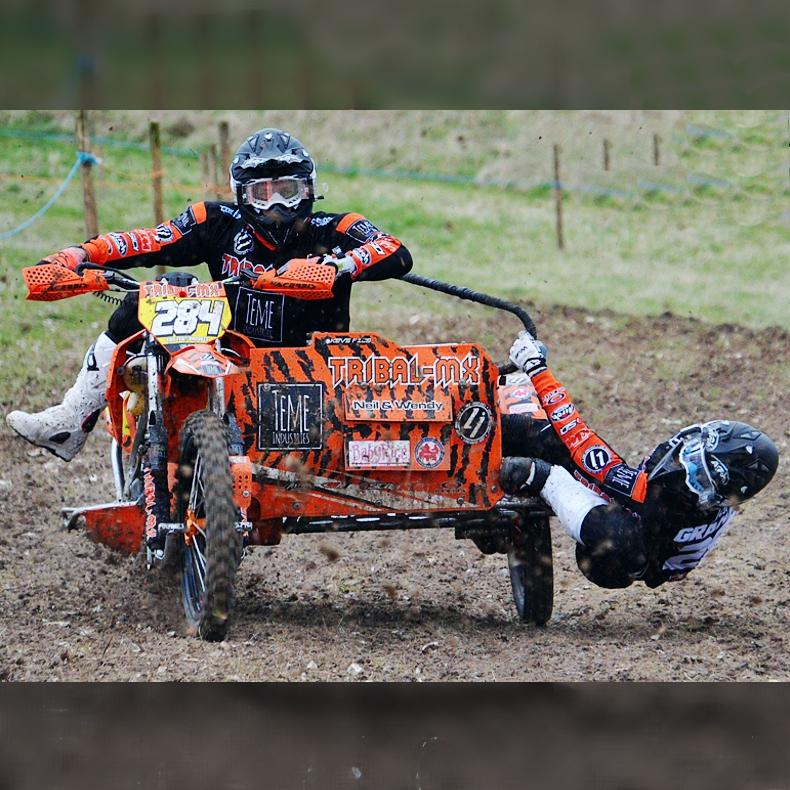 Tribal MX Sidecarcross Team Rob Jake