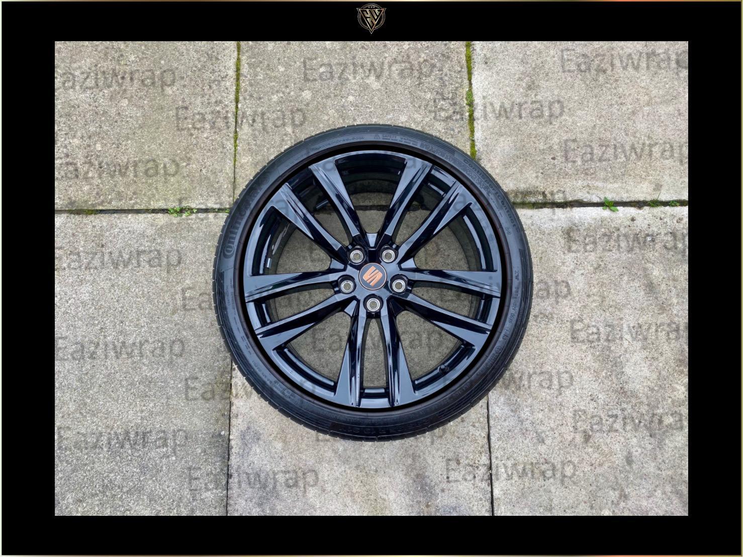 Eaziwrap Seat Leon Cupra MK3.5 Steering Wheel Vinyl /& Pinstripe Decal COPPER