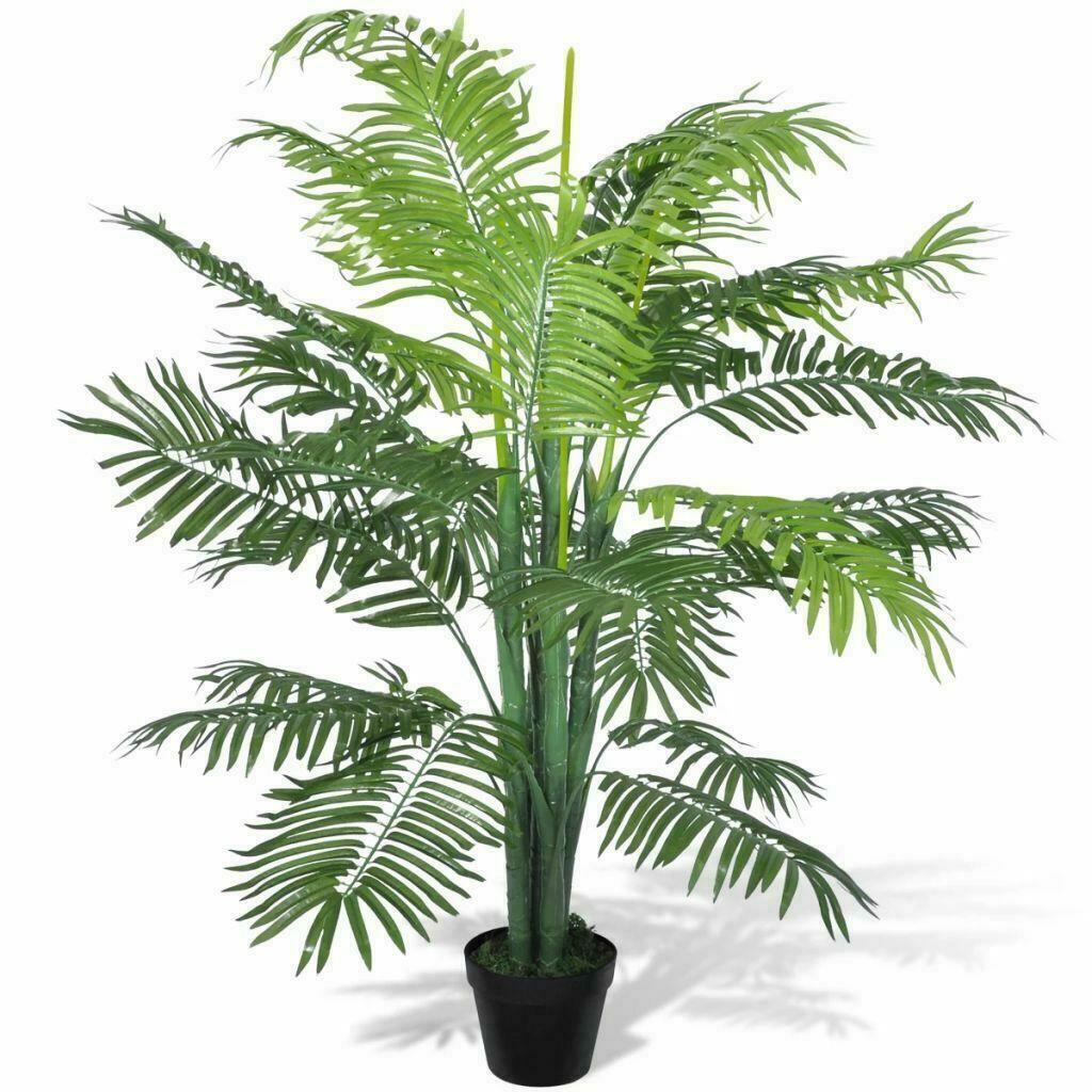 Green Artificial Phoenix Palm Tree With Pot 150cm Indoor Life Fake Flora Plant