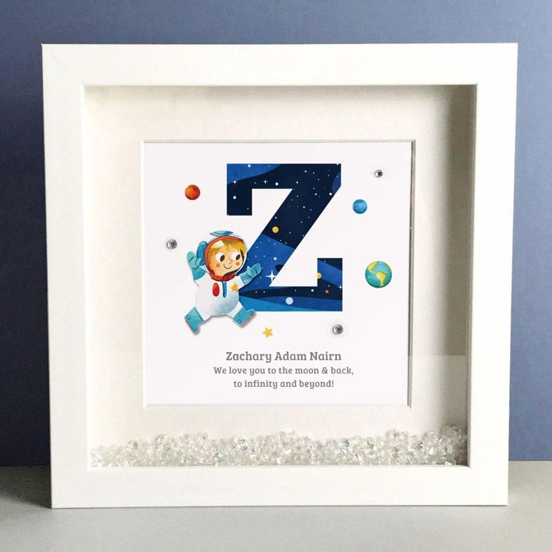 baby gifts, personalised baby gifts, framed baby gifts