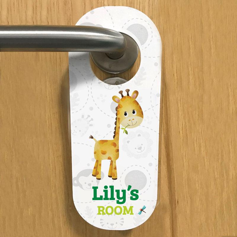 personalised door hangers for kids
