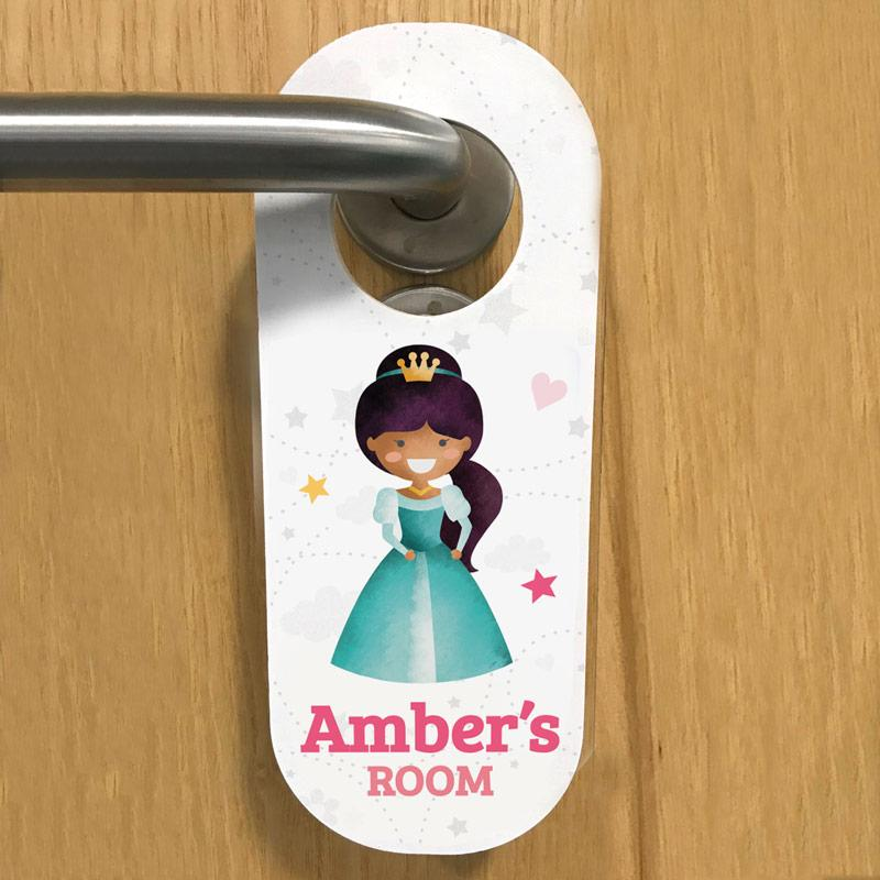 Princess 2 door hanger