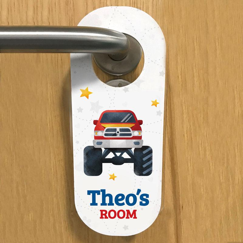 frame my name cars door hanger