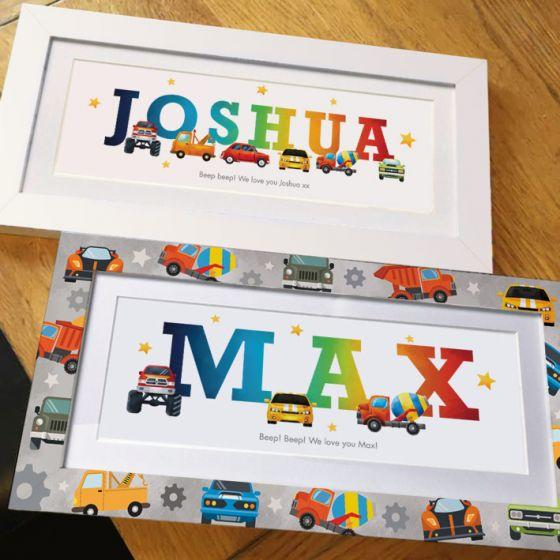 <h2>Baby Name Gifts <p><p>Were £30 Now Only £14.99 <p>Designed for ANY Name!