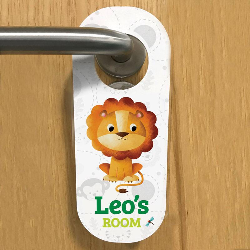 kids bedroom door hanger, frame my name