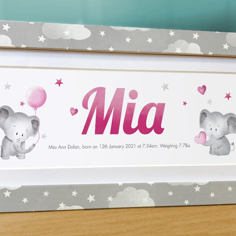 Frame My Name, nursery prints