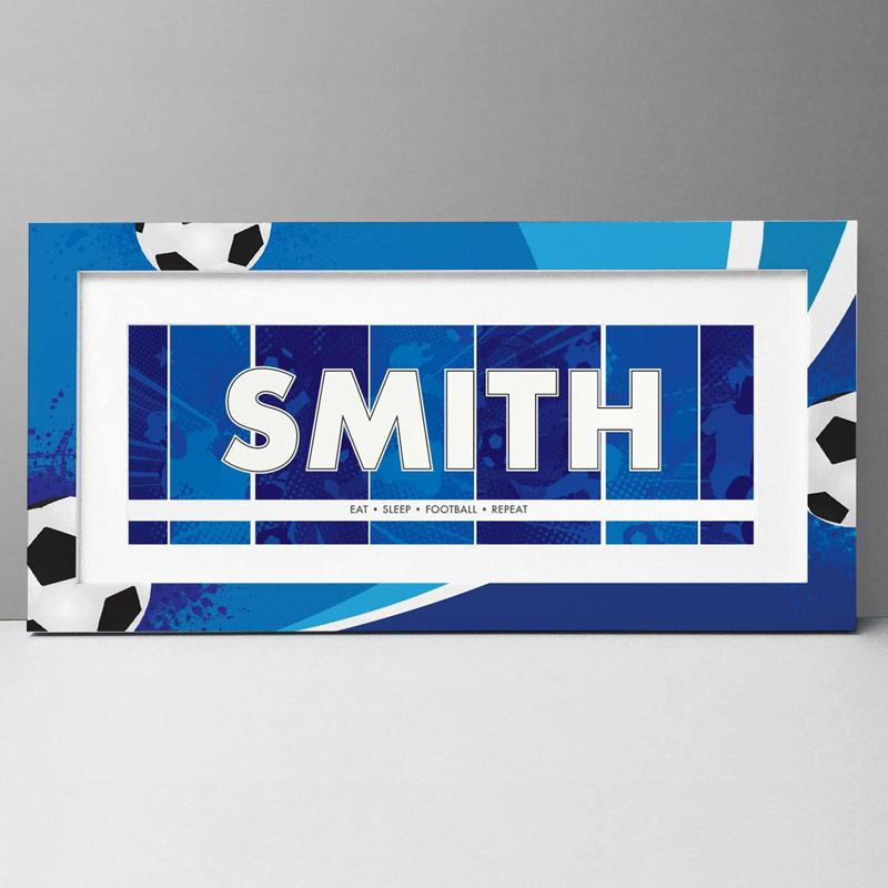 football name plaque, Frame My Name