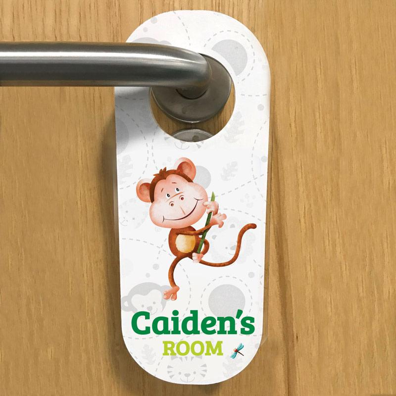 jungle door hanger