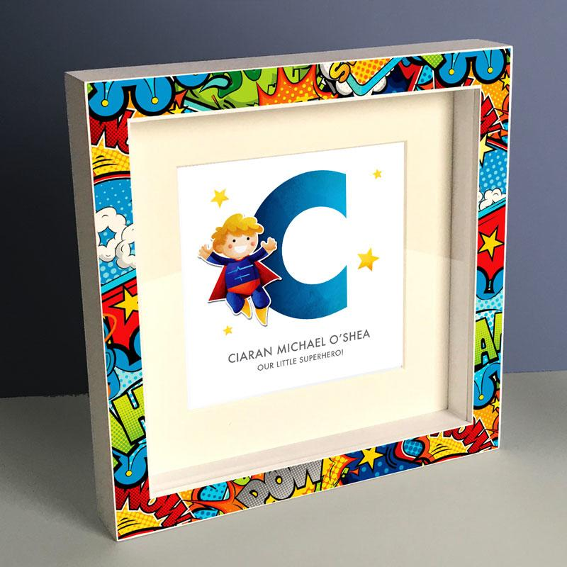 Frame My Name, superhero gifts for boys
