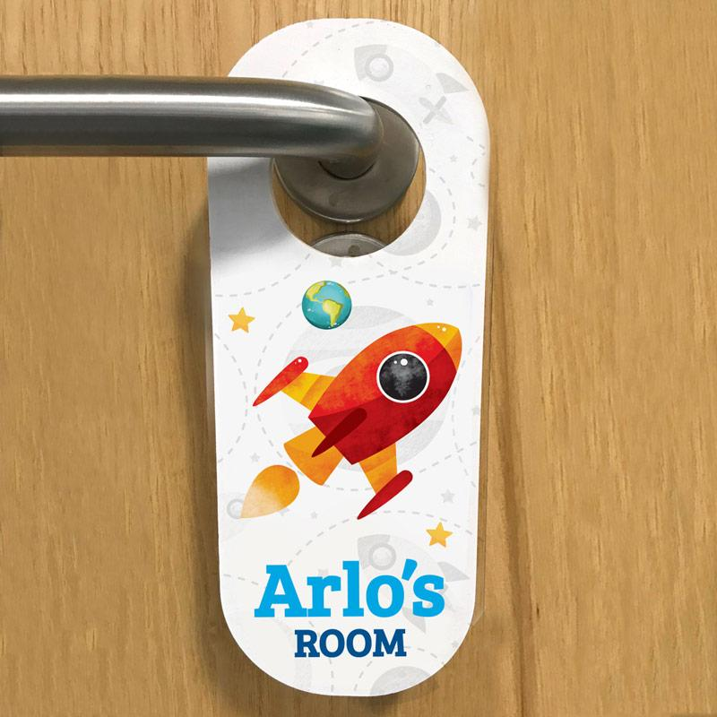wooden door hangers for kids, frame my name