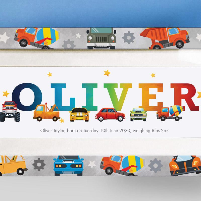 Oliver boy name gift ideas