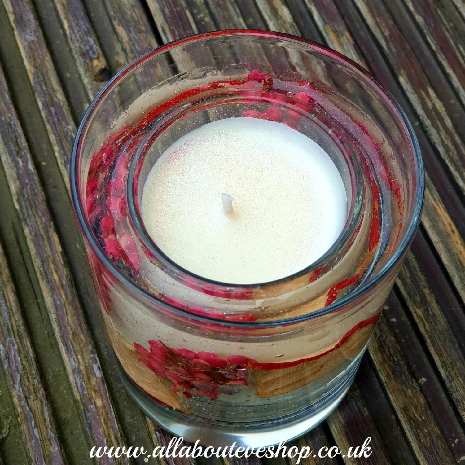Apple Botanical Gel Votive Candle
