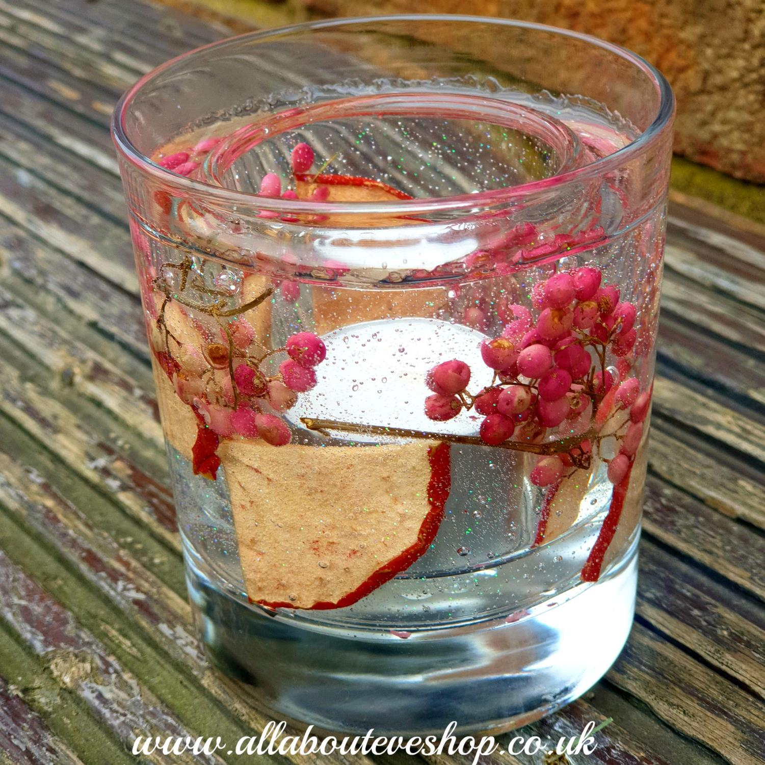 Apple Botanical Gel Tealight Holder