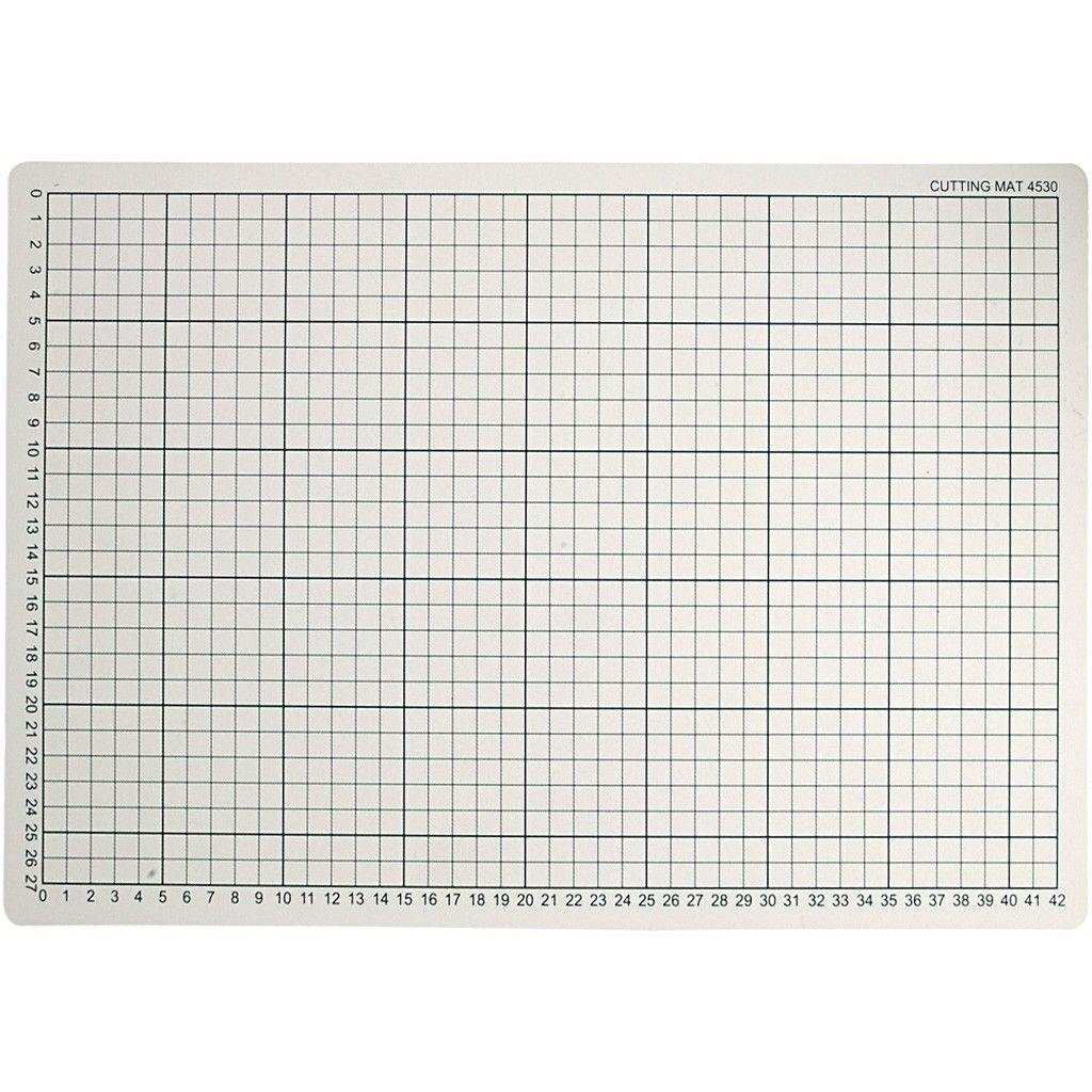 Cc11730 Cutting Mat Size 30x45cm Thickness 3mm 1pc