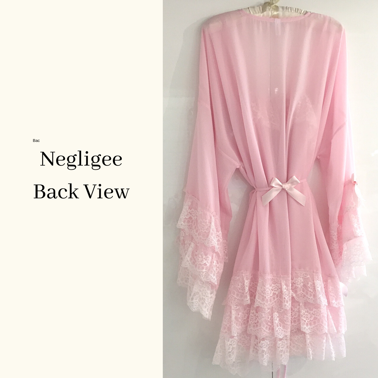 Cute Negligee set pink uk