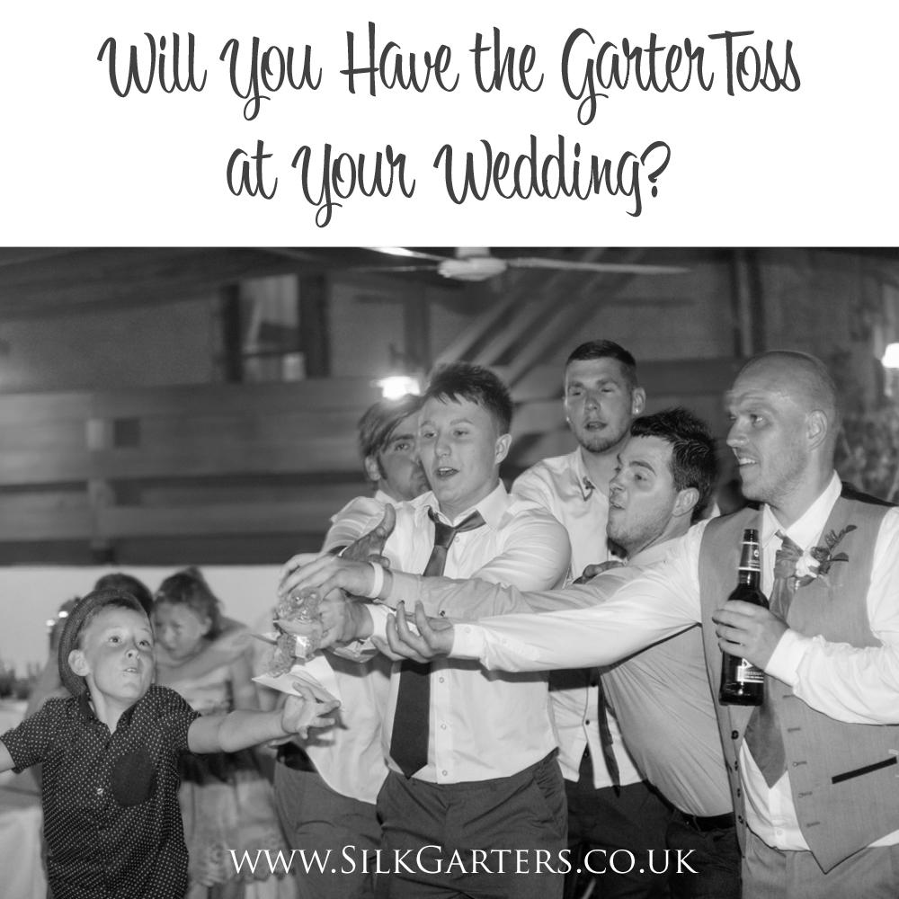 Fun Reasons For and Against Tossing Your Garter…