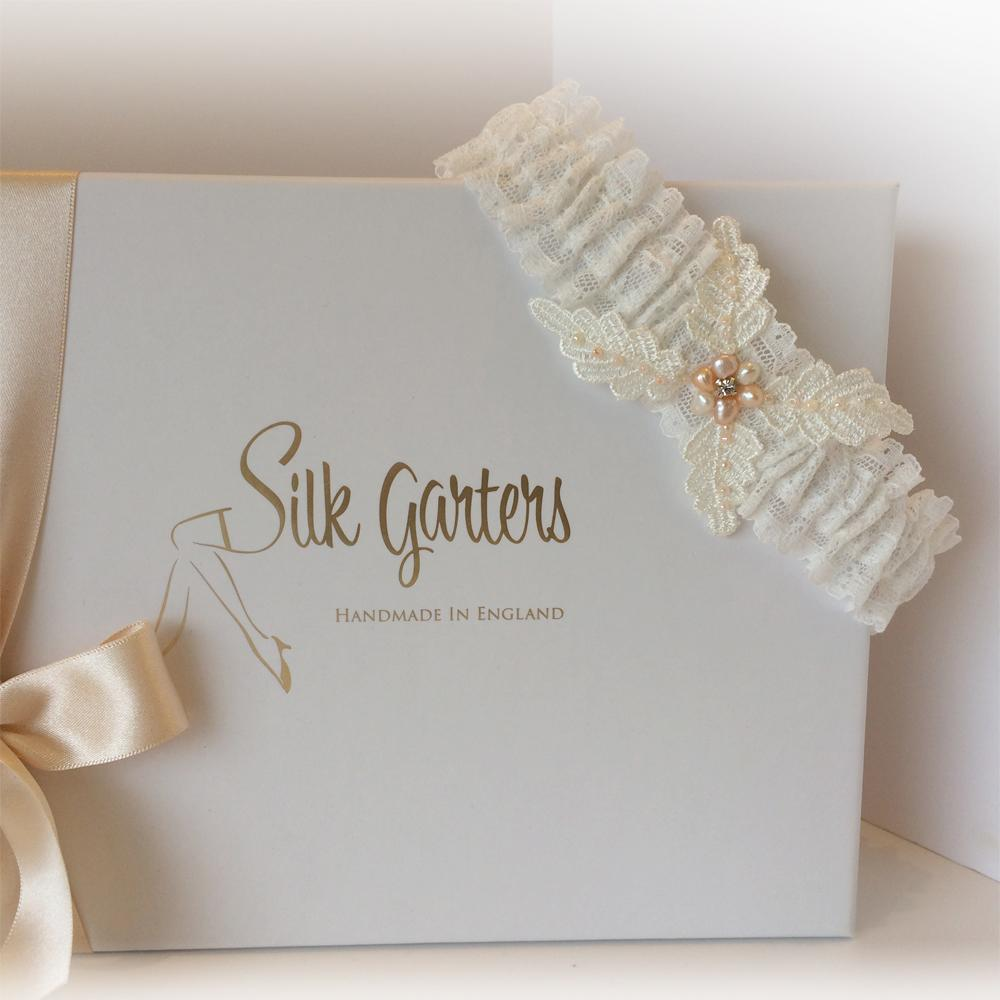 Colette wedding garter bride gift