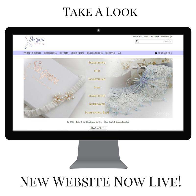 New wedding garter website now live!