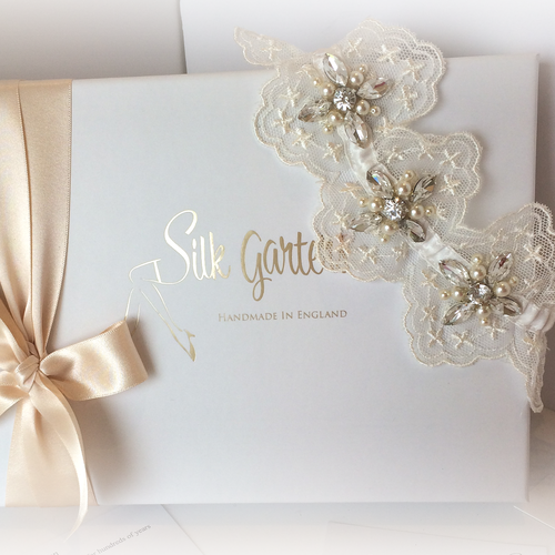 Jayla wedding garter meaning one who is special