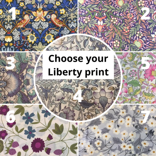 Choice of liberty prints for face masks