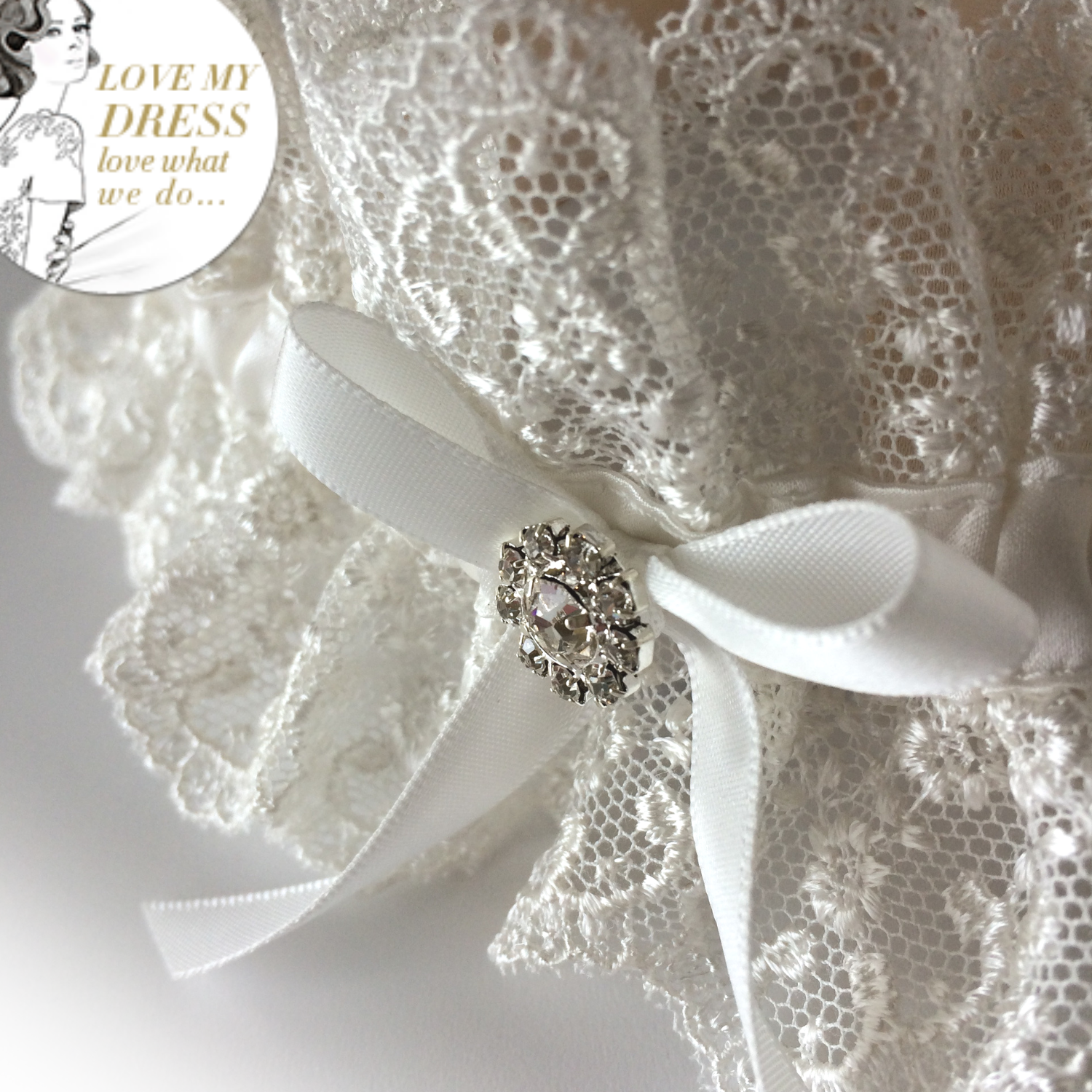 ivory wedding garter set best seller