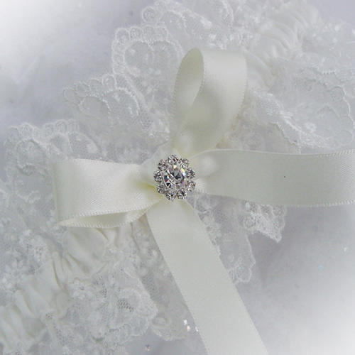 personalised wedding garter uk