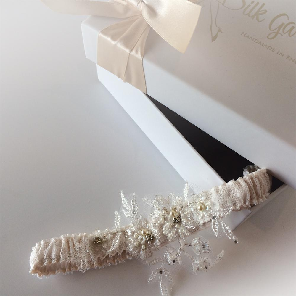 Mia boho wedding garter