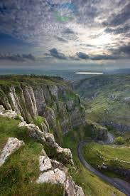 Cheddar Gorge - 'top' beautiful view in the Country.