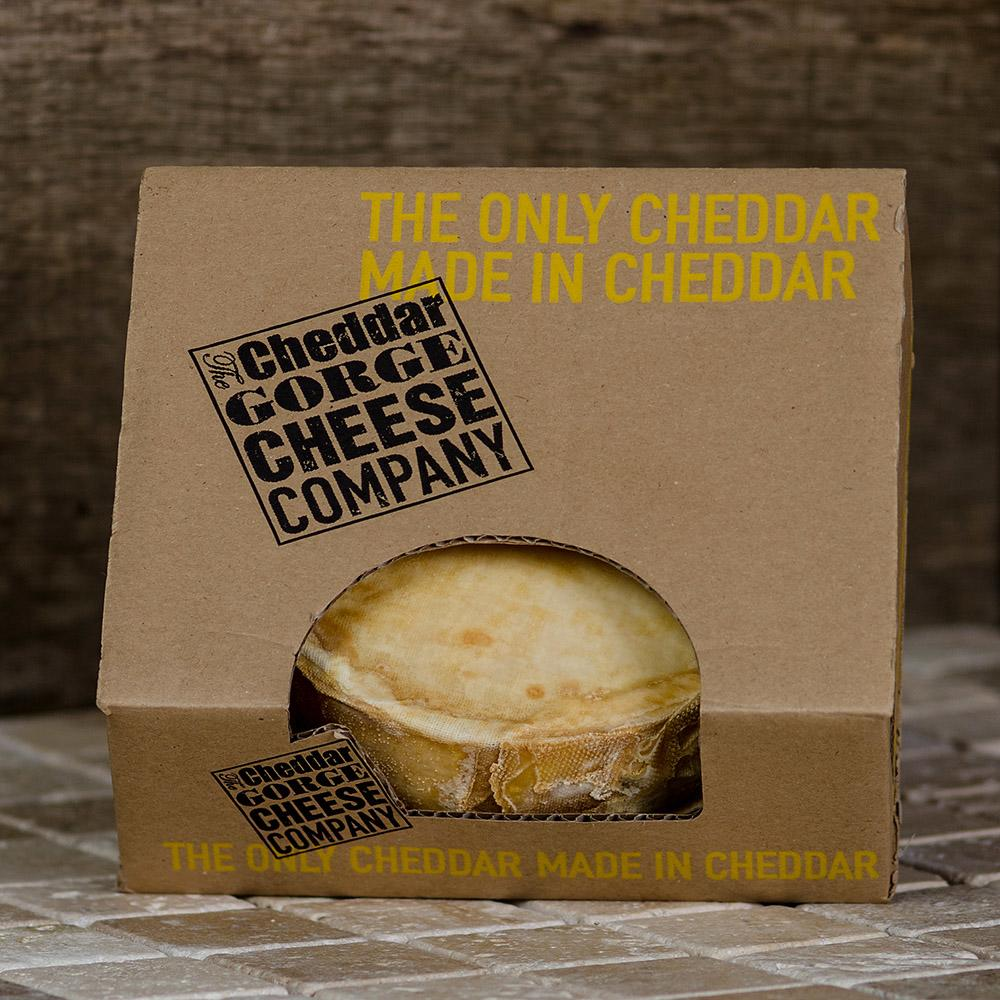 Individual Truckle of Cheddar Cheese