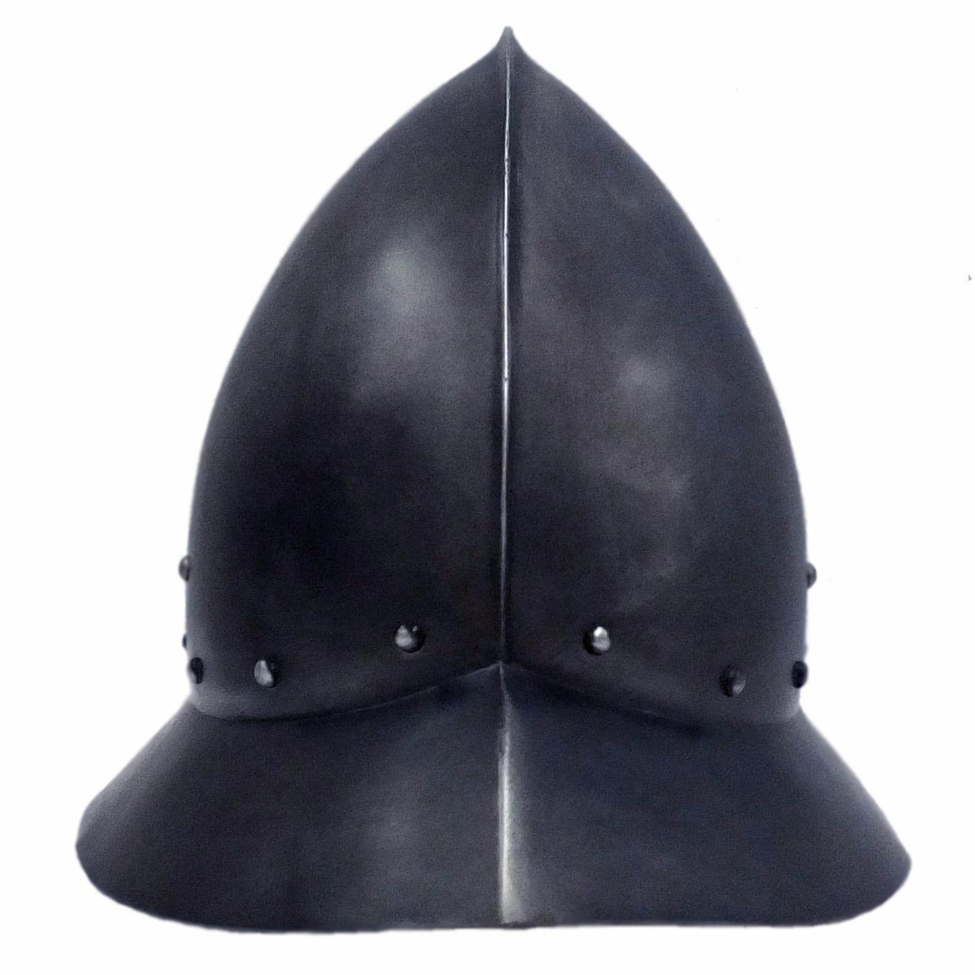 Spanish kettle hat larp helmet