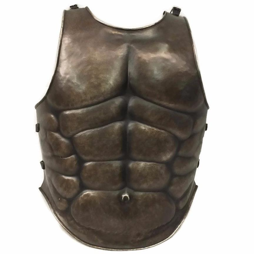 Muscle larp armour