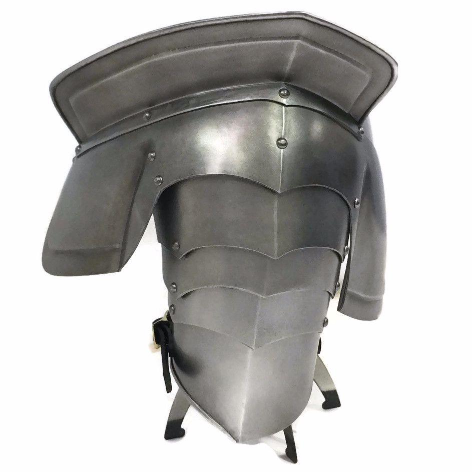 Milanese shoulder larp armour