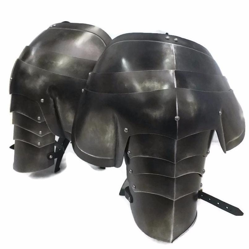 Milanese larp armour for shoulders