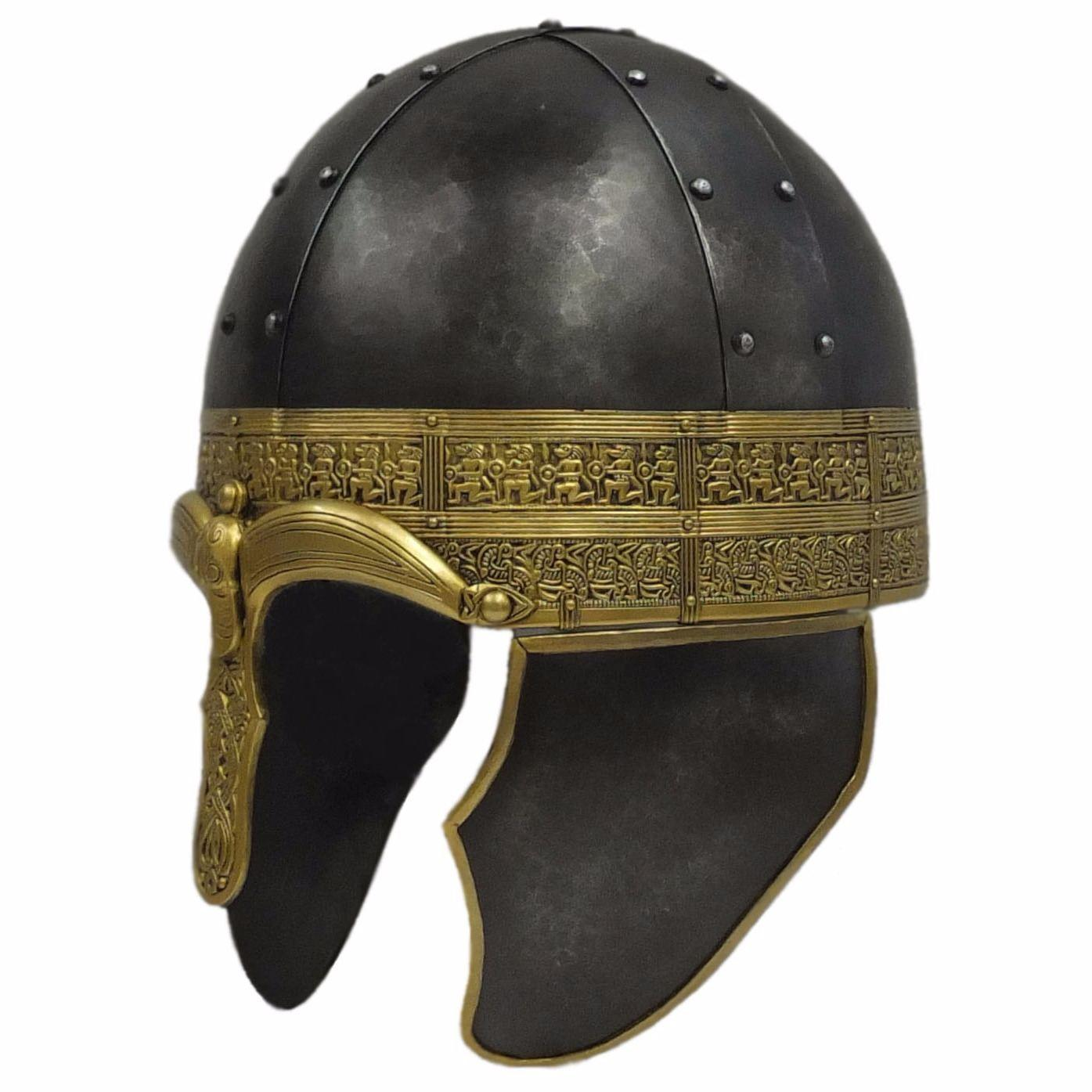 Staffordshire hoard design mercian spangehelm larp armour