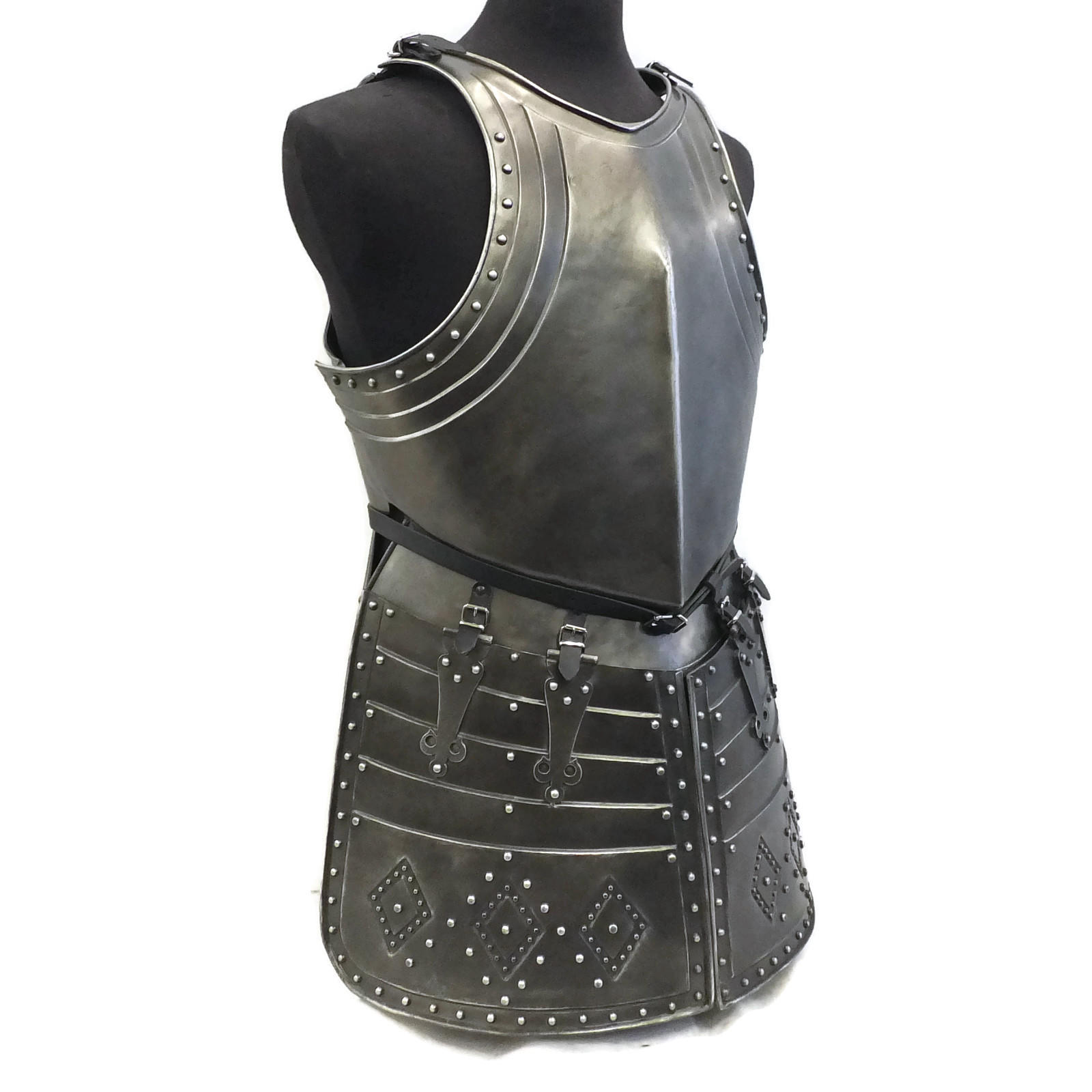 Pikeman's larp armour side