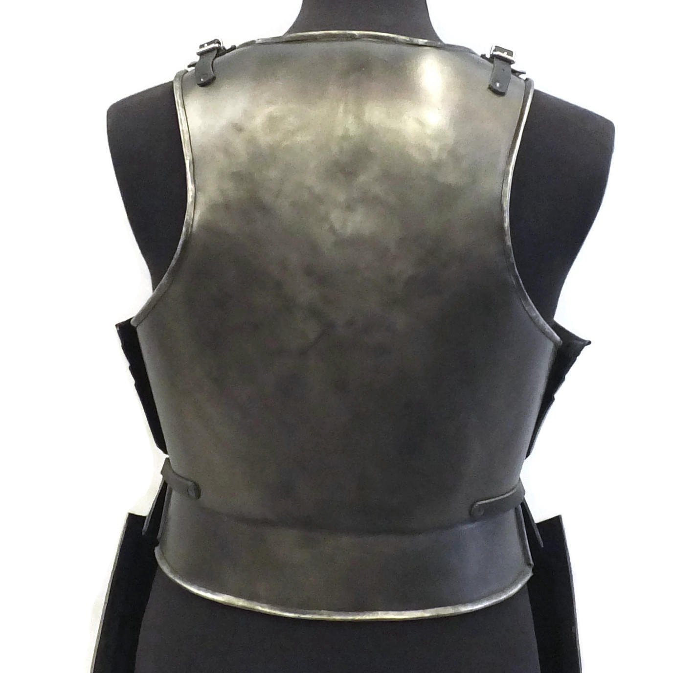 Pikeman's larp armour rear