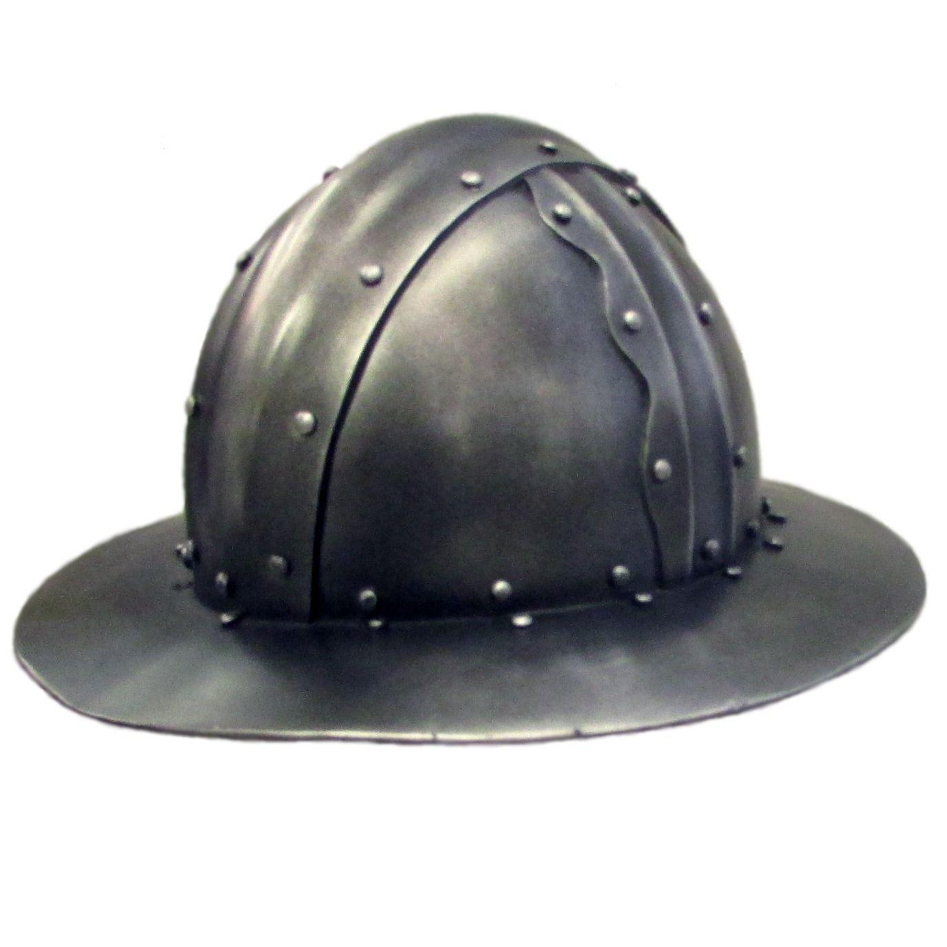 Kettle hat larp helmet