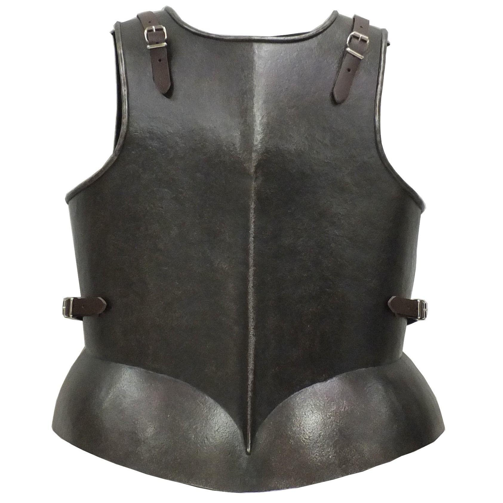 Munition back and breast larp armour