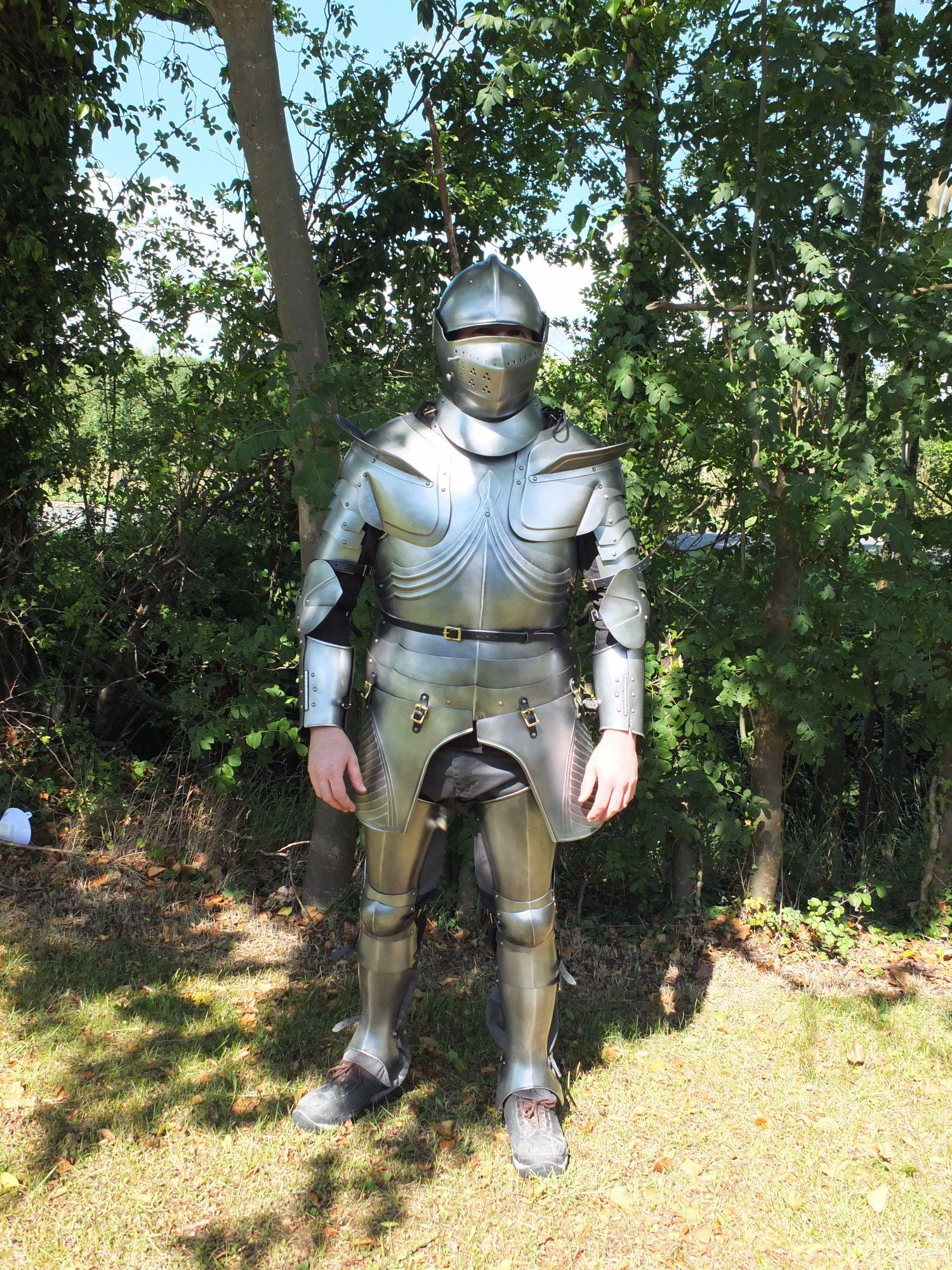 Gothic armour with Armet
