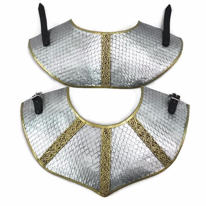 Wymwick scaled larp gorget