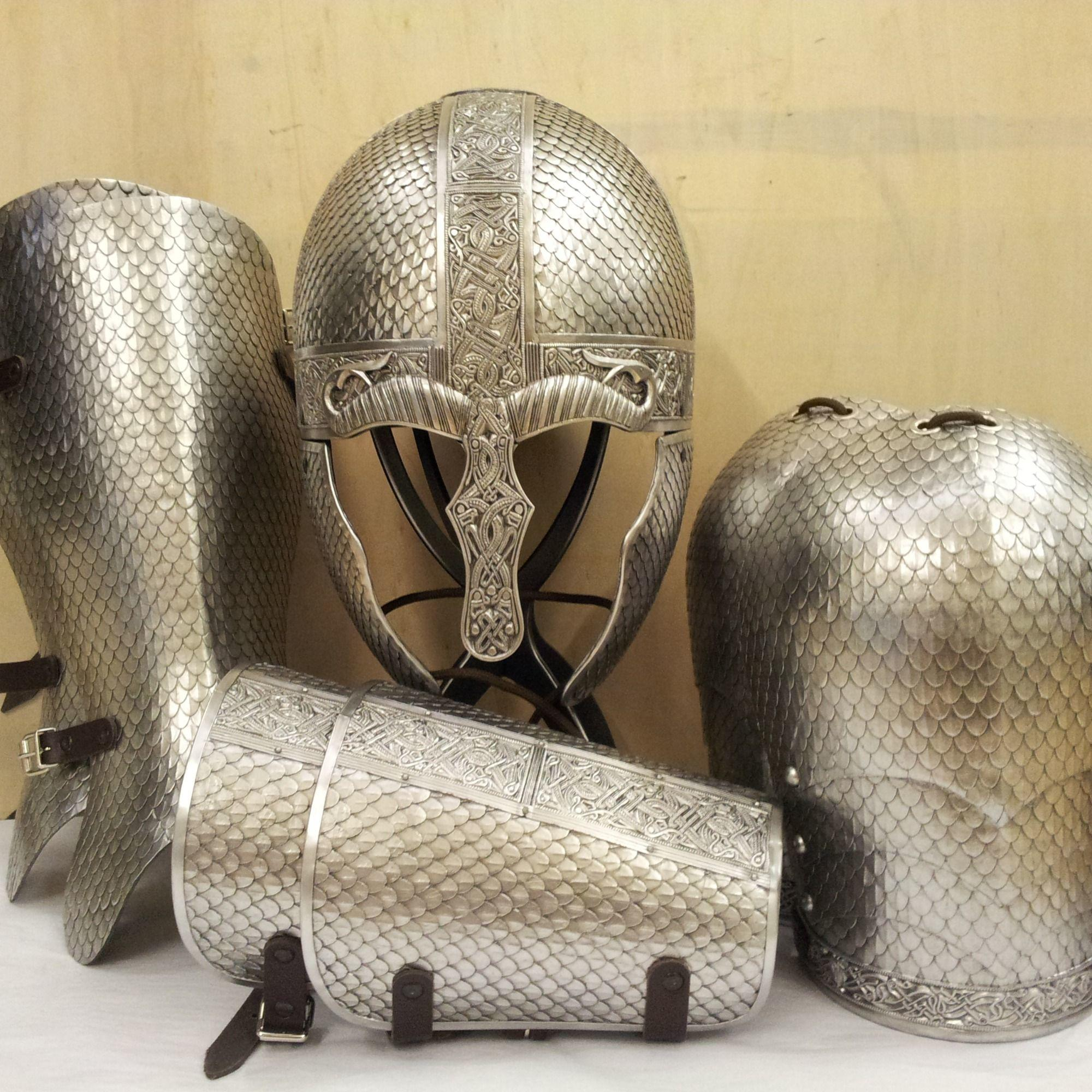 Wyrmwick scaled larp armour set