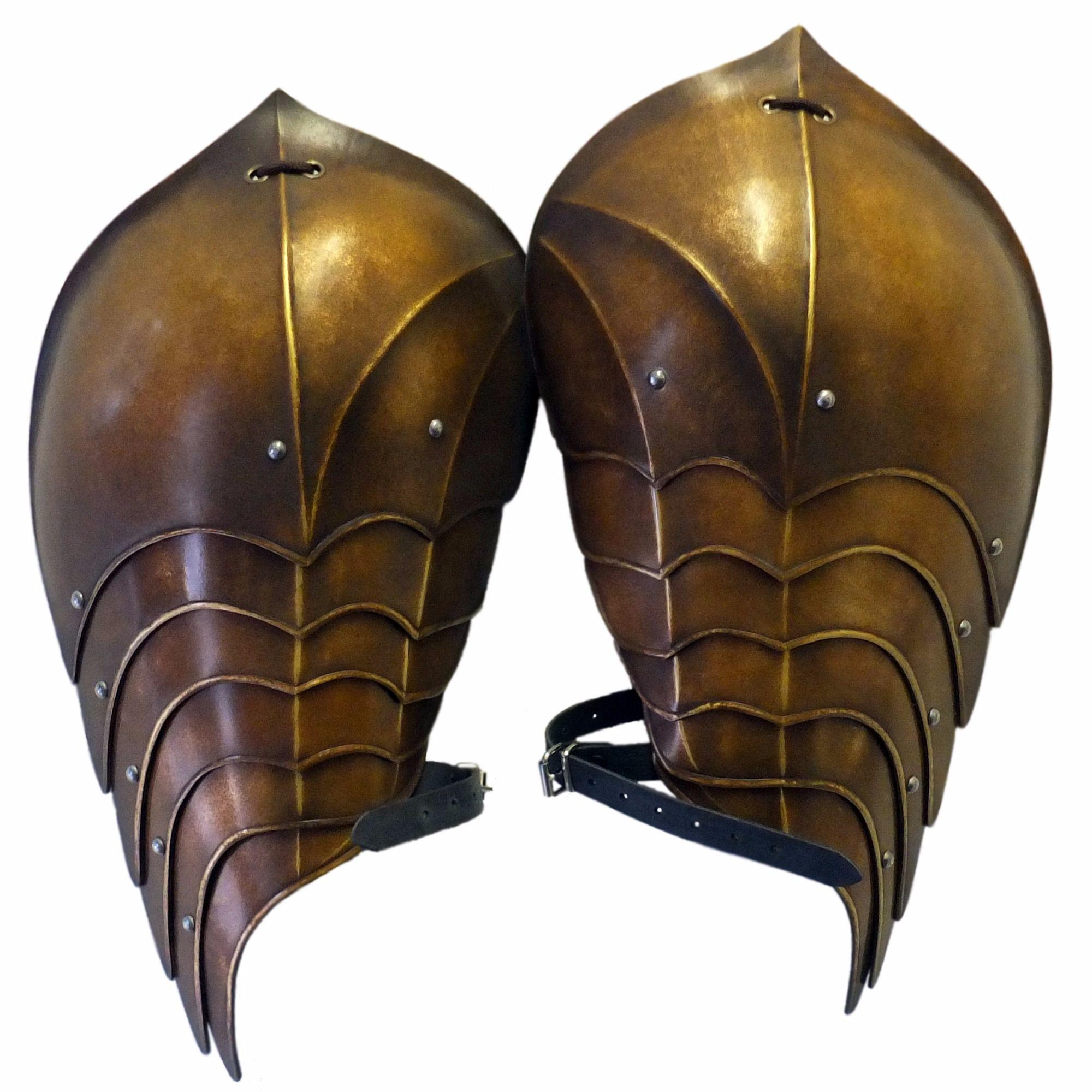 Wyvern elven larp shoulders