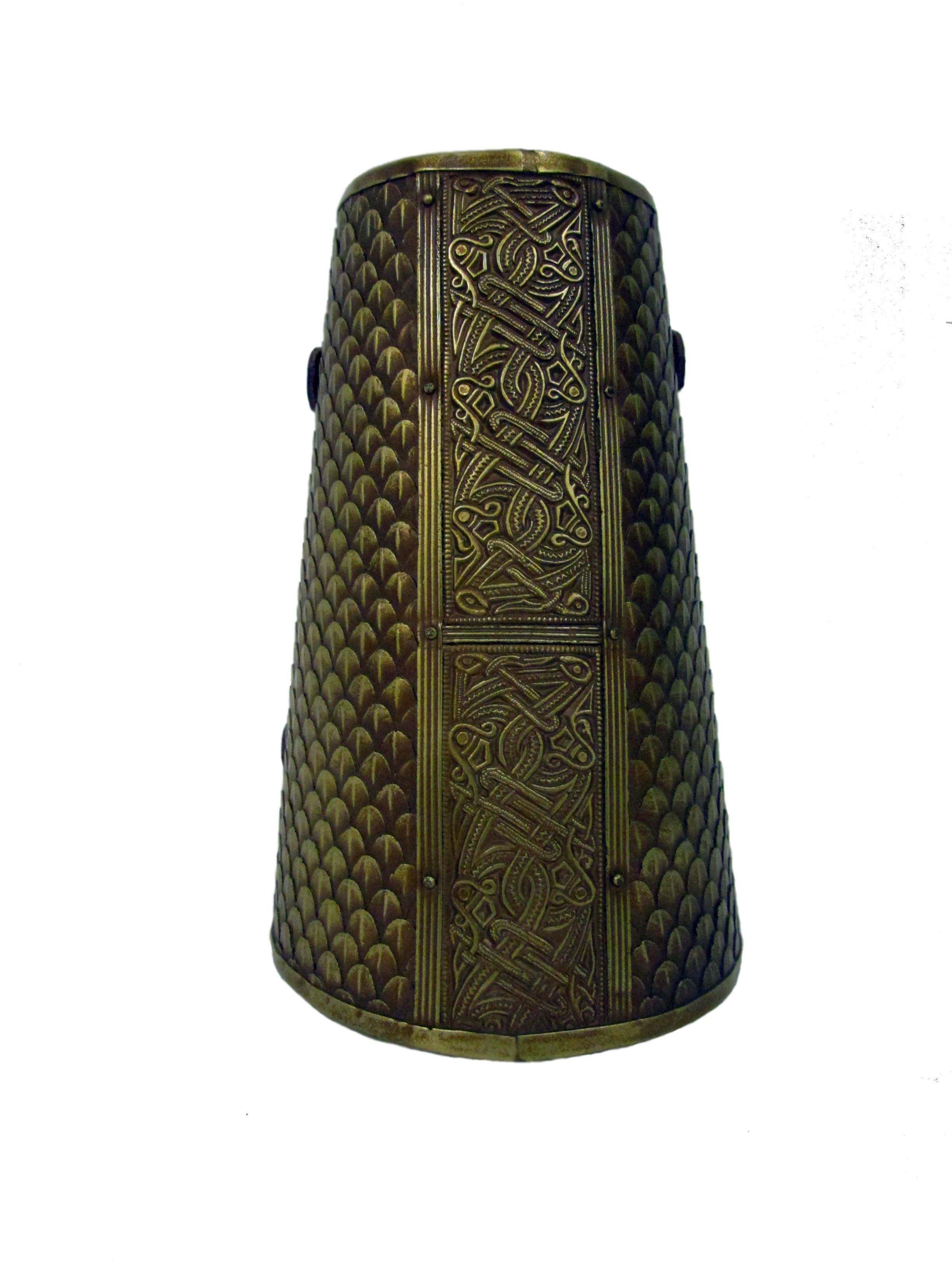 Wyrmwick celtic scaled larp bracers