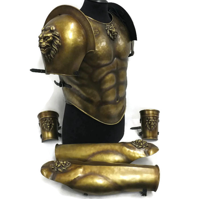 Classical Lion Greek Armour set
