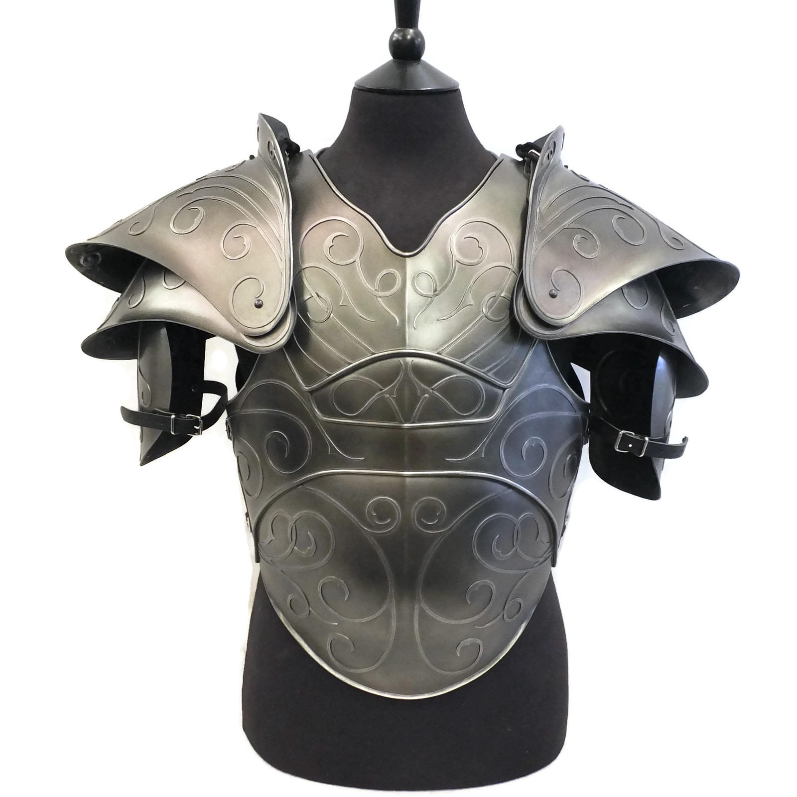 Citadel fantasy larp armour shoulders