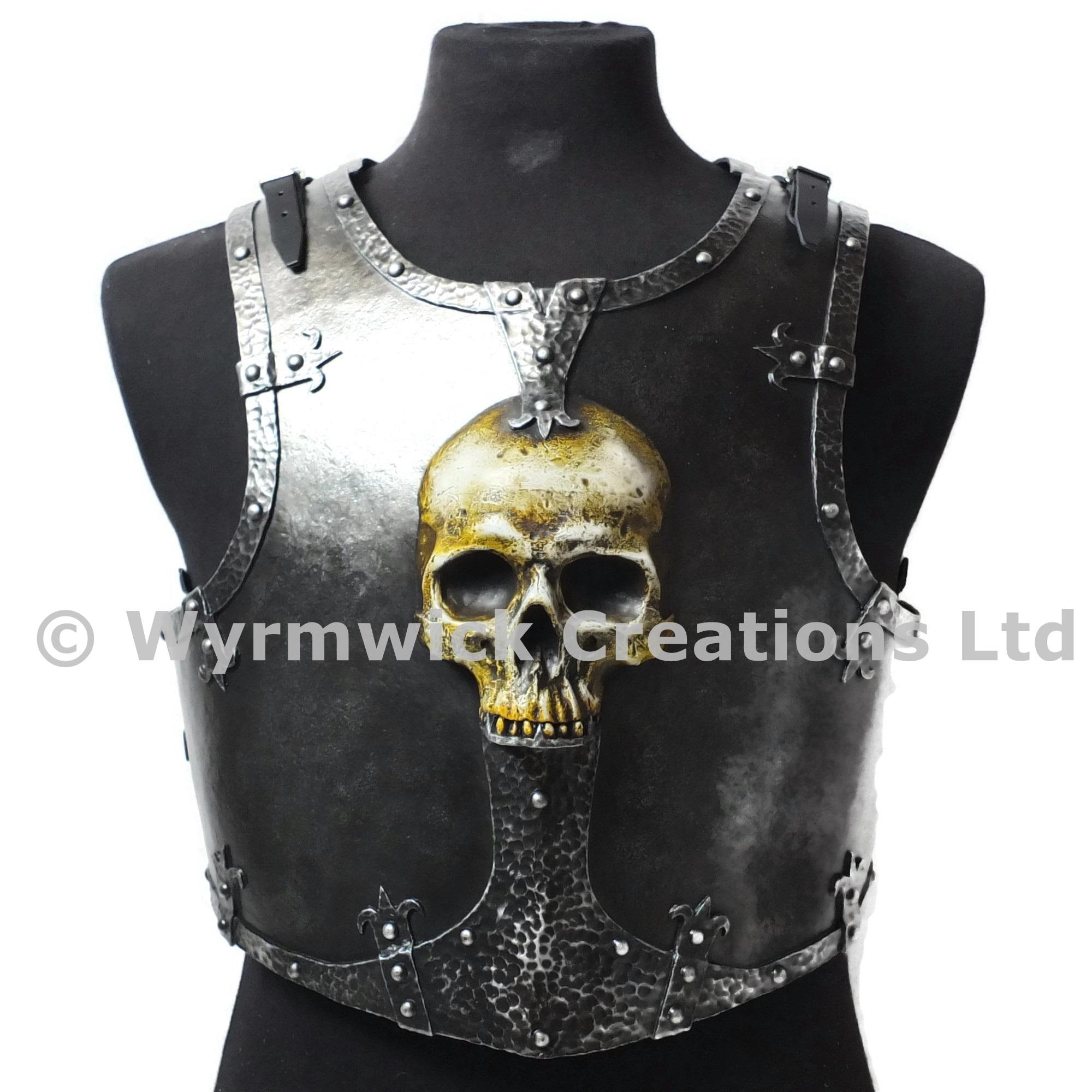 Ominous Skull Breastplate - Front