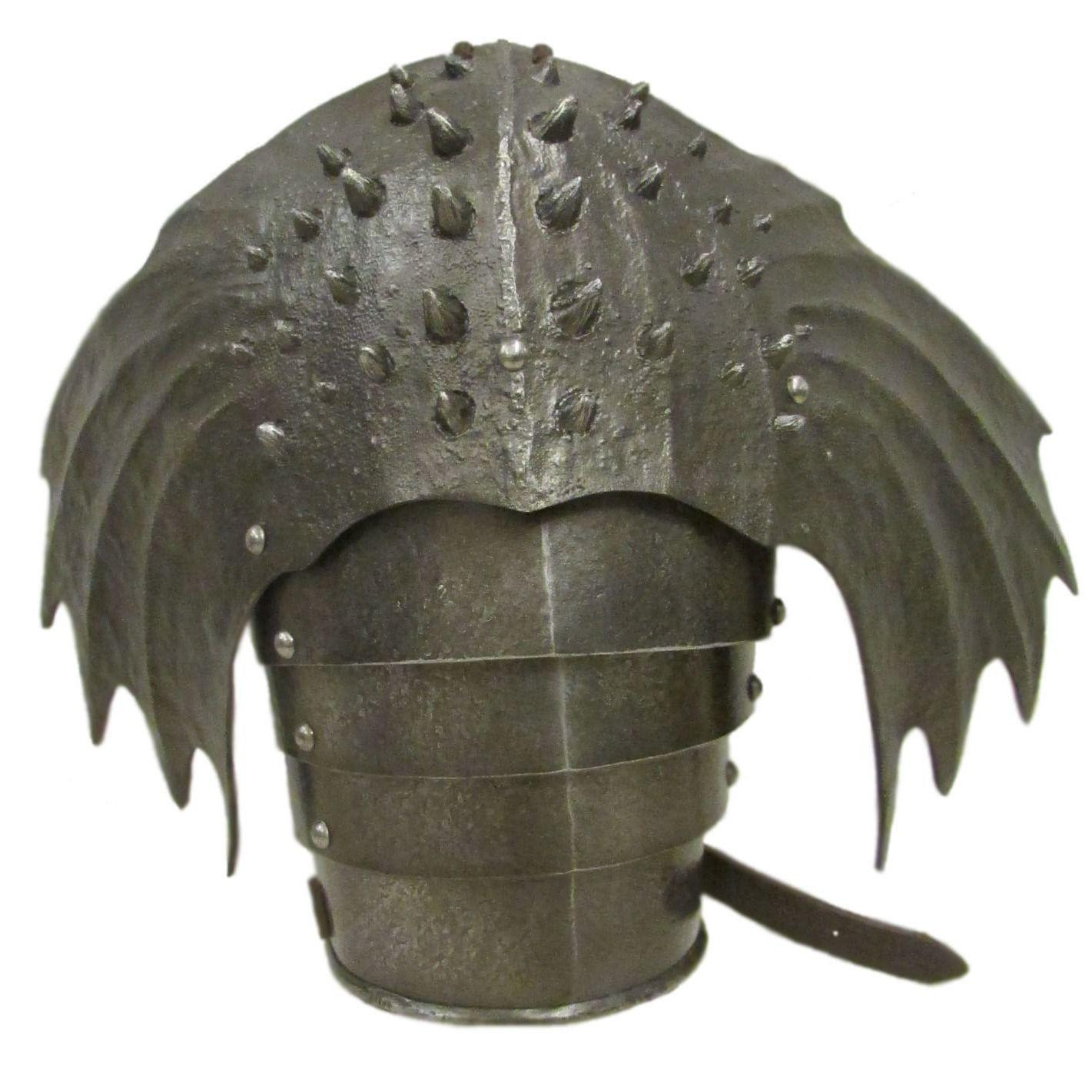 Winged larp shoulder armour