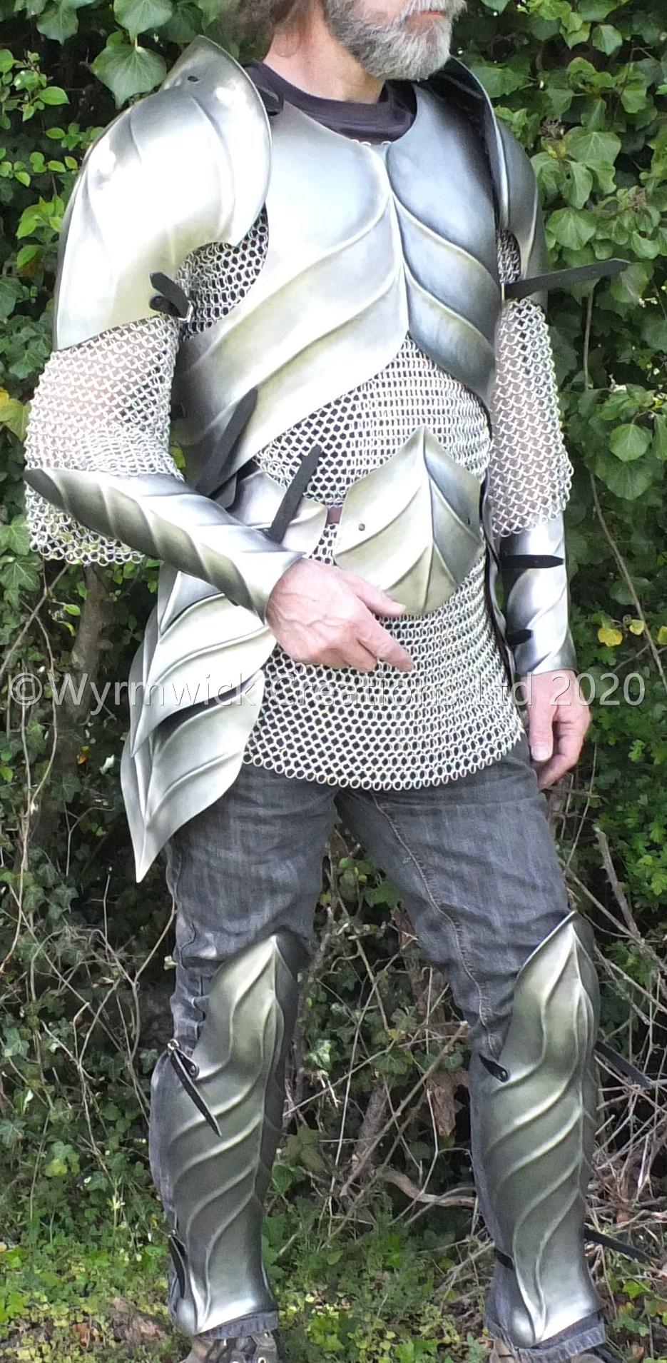 Elven armour set on human