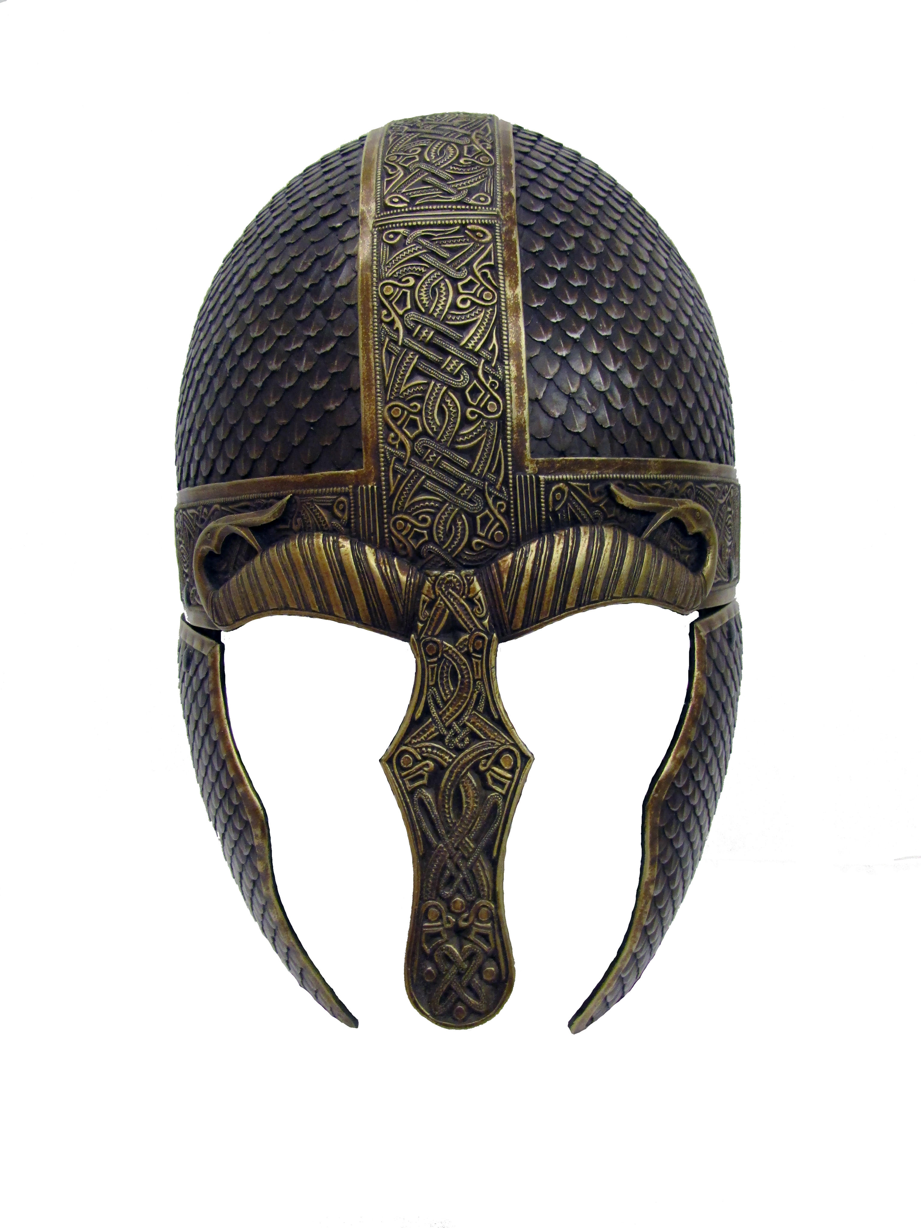 Wyrmwick celtic scaled larp helmet
